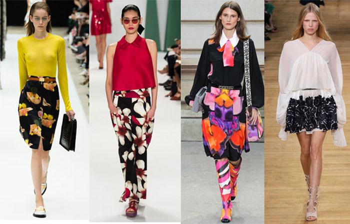 Модные юбки весна-лето 2016 женские фото