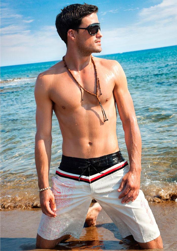 Пляжные мужские шорты 2016