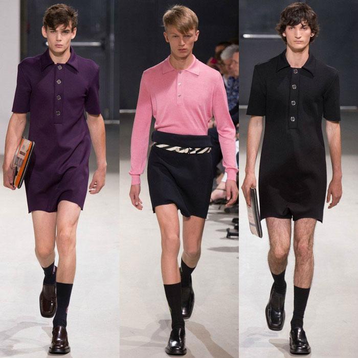 Мужские шорты на подиумах 2016