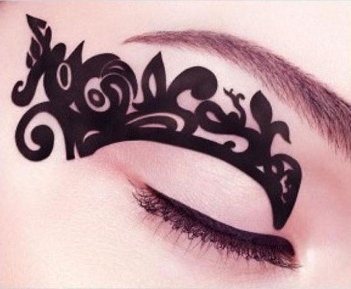 Макияж 2016 модные тенденции тату для глаз
