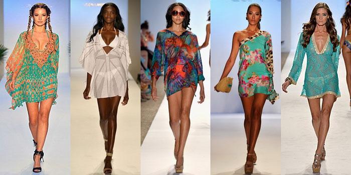 Пляжная мода 2016, сарафаны, туники