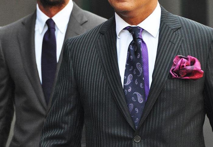 Подбираем галстук к костюму